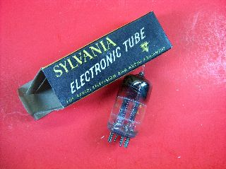 Vtg Sylvania Electron Vacuum 5bk7a Ham Radio Tv Cb Amp Phono Tube Made N Usa Nos photo