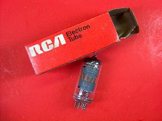 Vtg Rca Electron Vacuum 6gy6 / 6gx6 Ham Radio Tv Cb Amp Phono Tube Usa Made Nos photo
