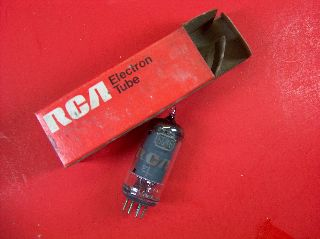 Vtg Rca Electron Vacuum 6gy6 / 6gx6 Ham Radio Tv Cb Amp Phono Tube Usa ~nos~ (b) photo