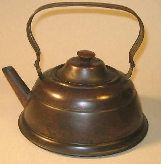 Antique Copper Kettle Unique Design photo