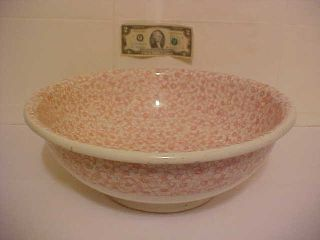 Late 1800s Brown Westhead Moore Bwm & Co.  Primrose Wash Basin Bowl ~ For Pitcher photo