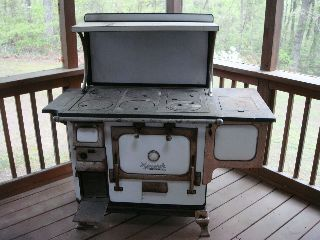 Monarch Malleable Iron Range Co 1920 ' S Model 7559cfw Antique Wood - Coal Stove photo