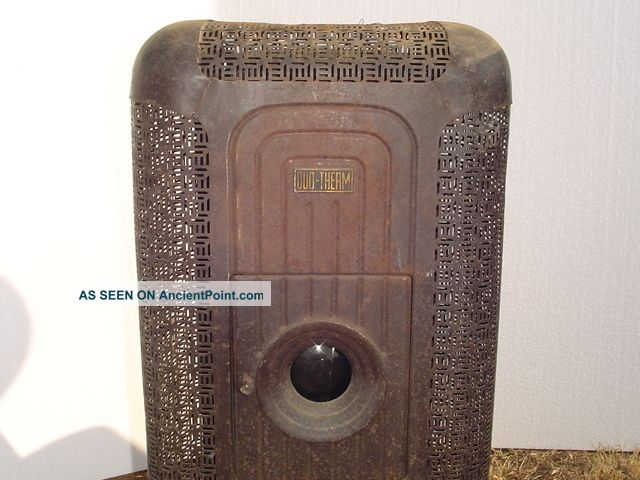 Vintage Duo Therm Oil Burning Stove Heater Furnace Kerosene Antique Local Pickup