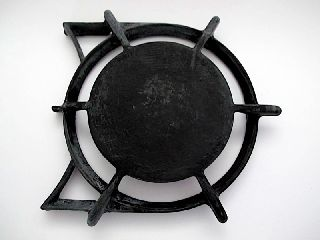 Vintage O ' Keefe & Merritt Gas Stove Parts - Vintage Gas Stove Top Burner Grate photo