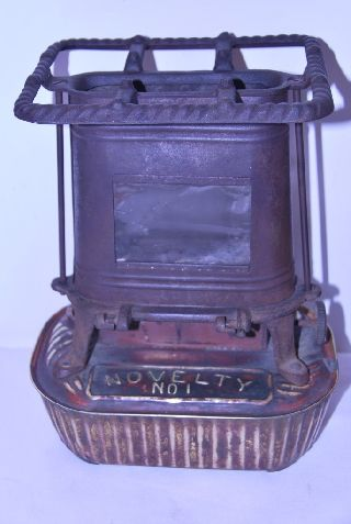 Rare 1891 Military Mini Camp Stove M.  B.  Co.  Ny Brass Working Condition Dated photo