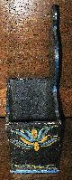Primitive Antique~hand Painted Pennsylvania Dutch/german Wood Kindling Box Hearth Ware photo 5