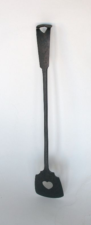 Wrought Iron 19th Century Spatula - Great Craftsmanship photo