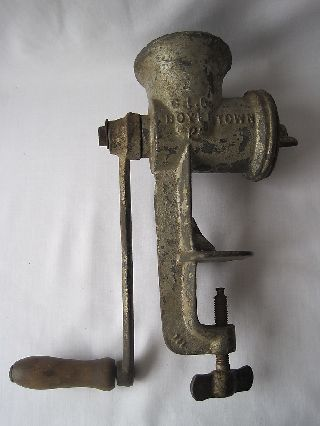 Vintage Meat Grinder Keystone No.  20 Boyer Town Pa photo