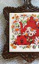 Vintage Cast Iron Tile Trivet (7 Seven Star) Teapot & Sunflower Design Trivets photo 1