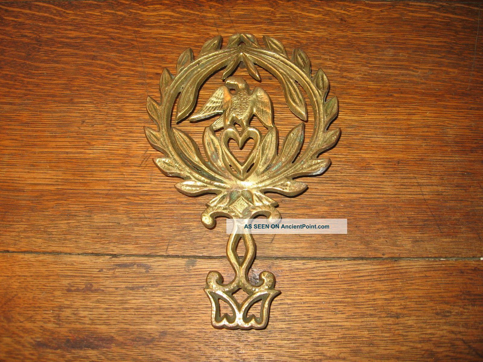 Antique Solid Brass