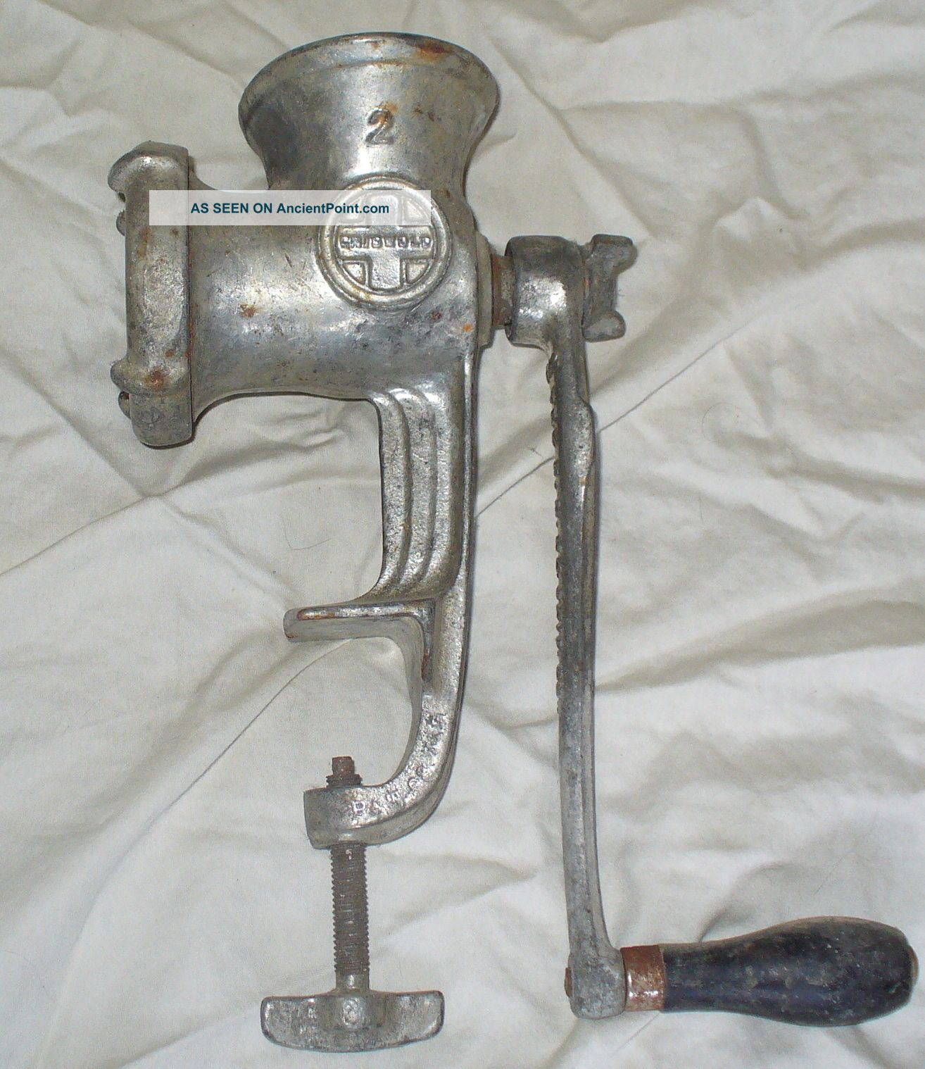 Antique Griswold 2 Meat Grinder Meat Grinders photo