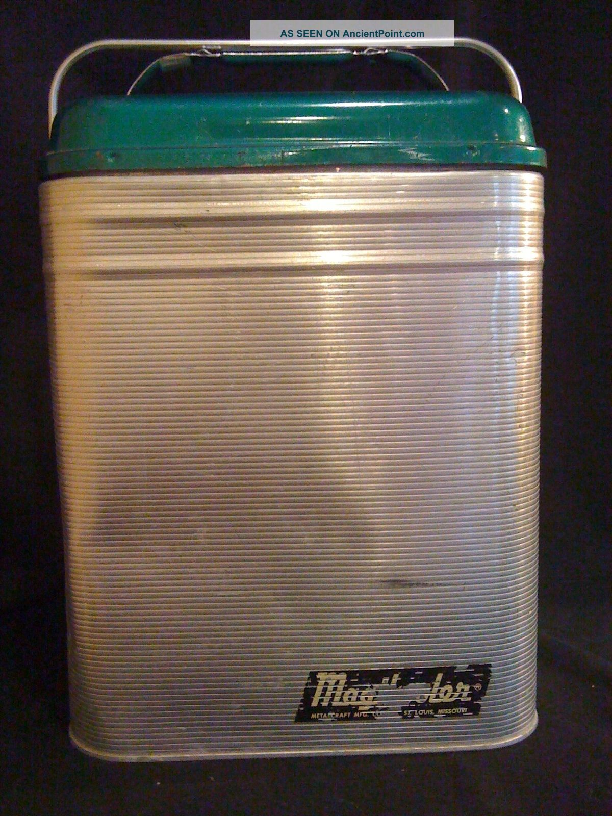 C.  1950 ' Magikcooler ' By Metalcraft Mfg.  Corp. Ice Boxes photo