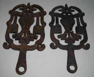 Two Country Styled Trivets 9