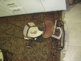 Antique Pal Baby Walker Stroller Carriage - Toy - Exc photo