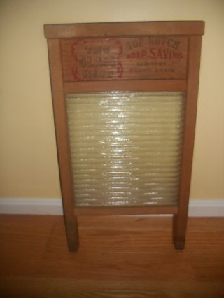 The Glass King National Washboard 860,  Chicago Memphis,  Laundry Decco photo