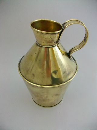 Vintage/antique Aesthetic Movement Brass Jug/pitcher John Marston/dresser photo