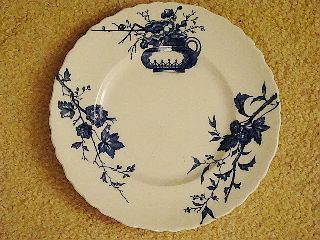 Doulton Burslem Woodstock Side Plate Garden Plants 12/3 photo