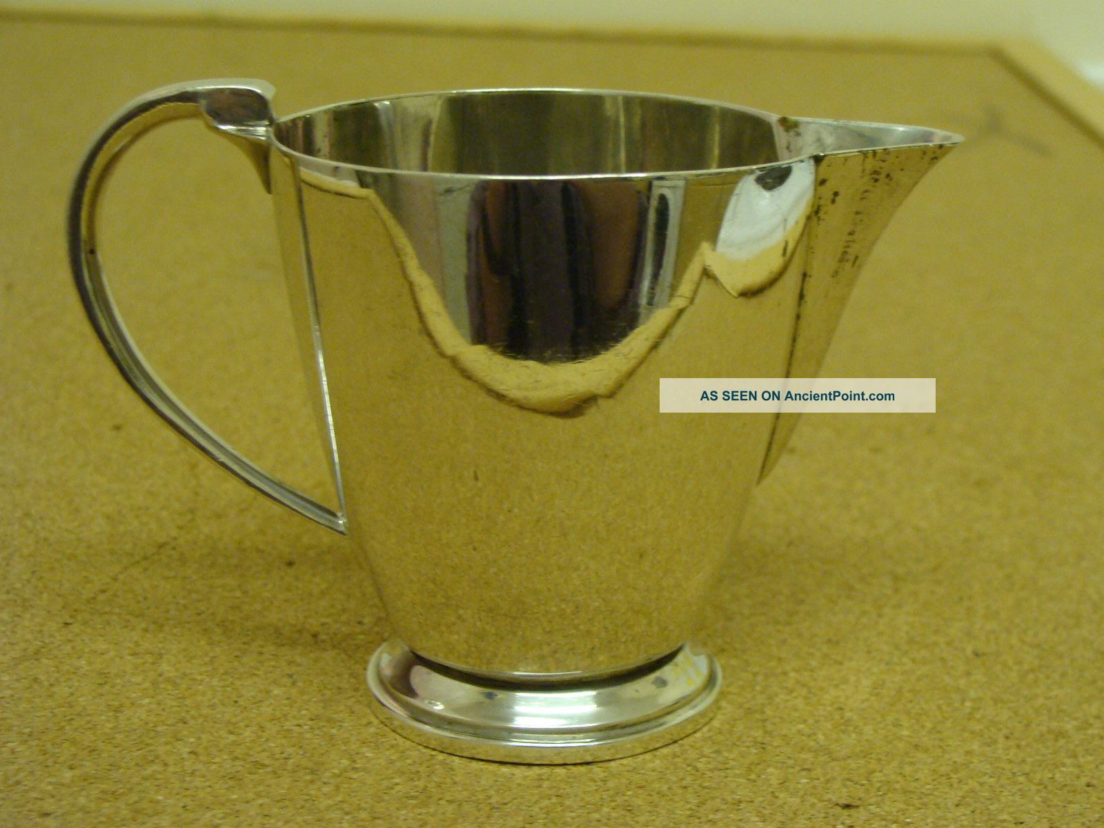 Antique Solid Silver - Britannia Silver - Milk / Cream Jug - 1935 Pitchers & Jugs photo