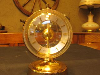 Vintage Semca 365 Day Mantel Clock photo