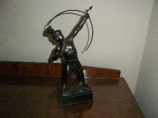 Art Deco Style Bronze Figure photo