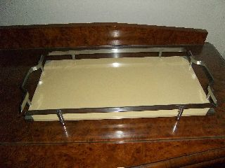Lovely Art Deco Style Tray photo