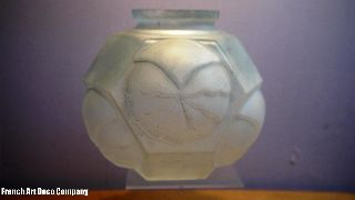 French Art Deco Modernist Vase C1930 photo