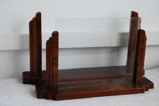 Vintage Antique Art Deco Wooden Picture Photo Frames 2 photo