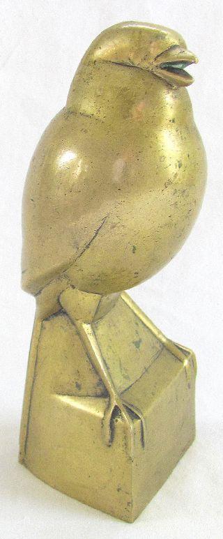 C1920 Art Deco Bronze Bird After Jan & Joel Martel - photo