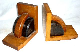 A Pair Of Good Quality Art Deco Period Bookends,  Circa 1920. photo