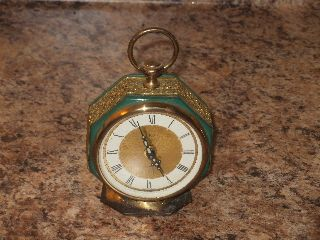 Victorian Antique Art Deco Elgin Alarm Clock Made In West Germany Shop Shop photo