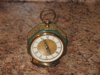 Victorian Antique Art Deco Elgin Alarm Clock Made In West Germany Shop Shop photo