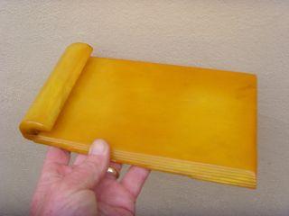 An Art Deco Carvacraft Phenolic Bakelite Note Pad Holder C1930 photo