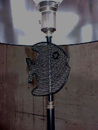 Machine Age Royere - Styled Fish Floor Lamp - Hollywood Regency photo