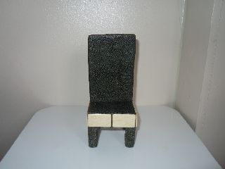 Art Deco 1930 ' S Stunning Miniature Shagreen High Back Chair photo