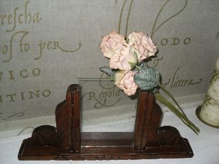 Vintage French Wooden Art Deco Photograph / Picture Frame photo