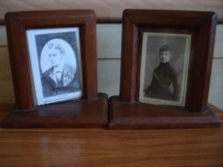 A Wonderful & Very Unusual Pair Of Photo Frames photo