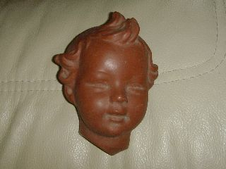 A Charming Antique Art Deco Goebel Face Mask - C1930s? photo