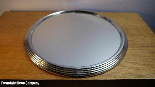 French Art Deco Modernist Cocktails Tray C1930 photo