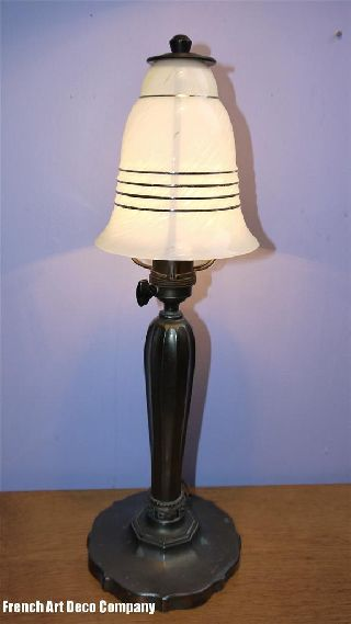 Zico Art Deco Bauhaus Table Lamp C1930 photo