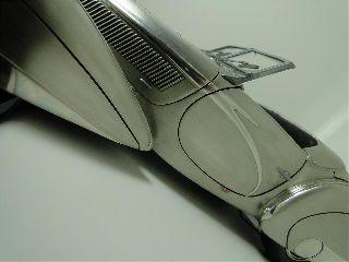 Rare Art Deco Vintage Classic Concept Delahaye Exotic Sports Race Car Model Pics photo