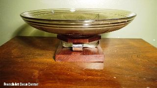 French Art Deco Modernist Fruit Bowl C1930 ' S photo