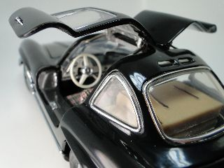 Rare 1950 ' S Vintage Mercedes Gullwing Concept Classic Sport Car 1:24 Model Art photo