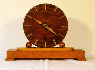 Vintage Deco Clock Germany Bb1 photo
