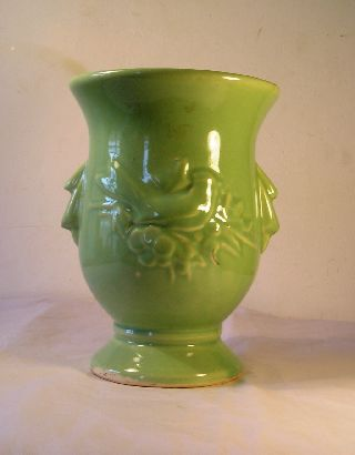 Vintage Mccoy Art Pottery Vase A20 photo