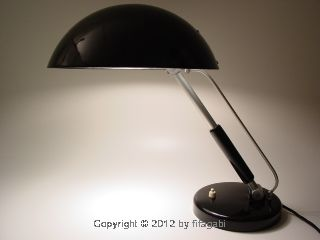 Vintage Bauhaus German Modernist Desk Lamp Museal Functional Design Art Deco photo