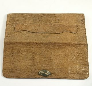 Art Deco Lizard Skin Purse photo