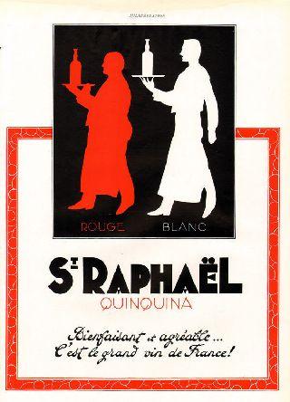 1936 St Raphael Wine Liquor Deco Paris France Brewery photo