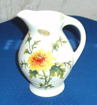 Brentleigh Ware Jug,  Art Deco,  Earthenware,  Rare,  England,  Antique,  Numbered,  Home Deco photo