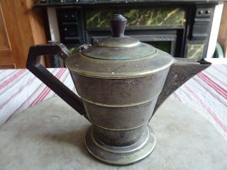 Antique Art Deco Teapot photo