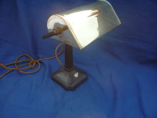 Art Deco Desk Lamp - Very Typical Of Era photo